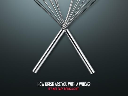 MSA Culinary Arts Academy Print Ad -  Whisk