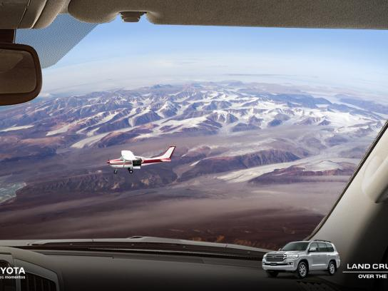 Toyota Print Ad - Over The Top, 3