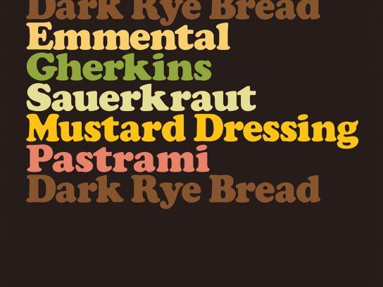 M&S Print Ad -  Pastrami