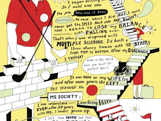 MS Society Print Ad -  John