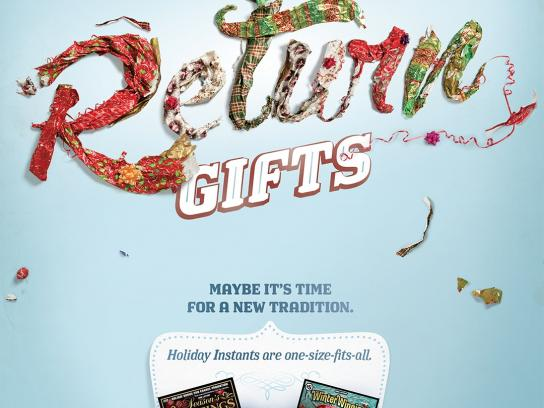 Ohio Lottery Outdoor Ad -  Gifts