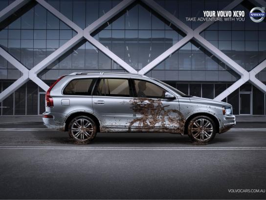 Volvo Print Ad -  Mud