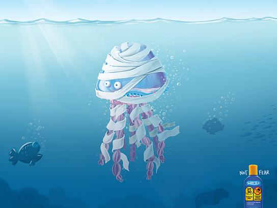 Safe Sea Print Ad -  Mummy