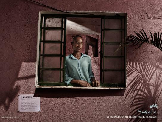 Muquifu Print Ad -  The mother