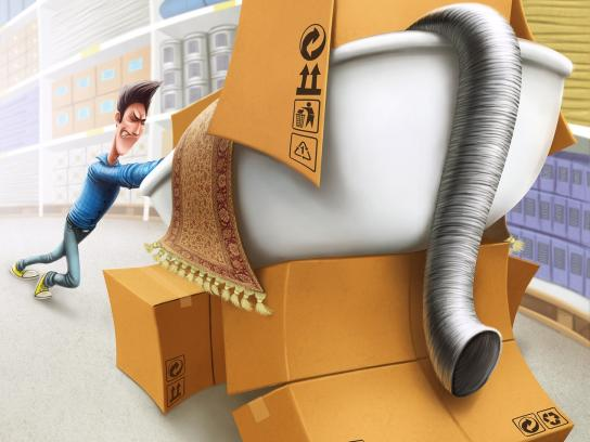 Muravej Print Ad -  Stubborn elephant