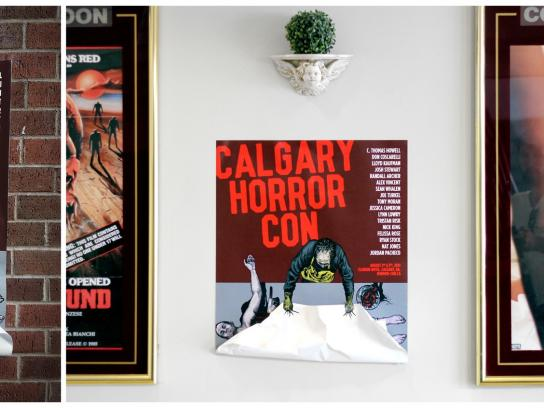 Calgary Horror Convention Outdoor Ad -  Murder