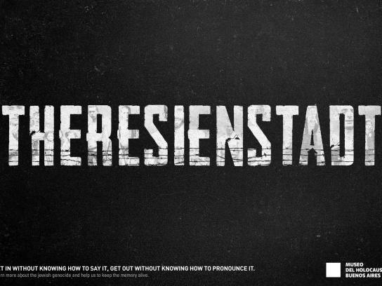 Museo del Holocausto Print Ad - Concentration Camps, 1