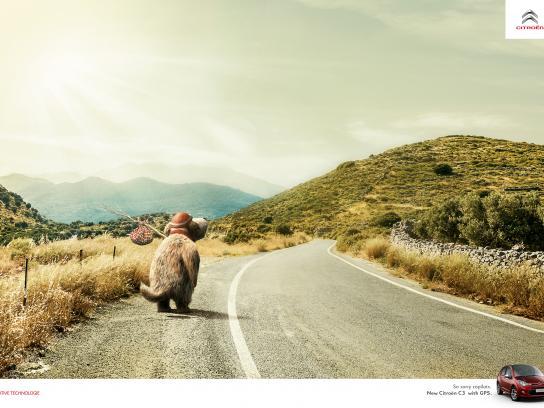 Citroën Print Ad - GPS - Mutley