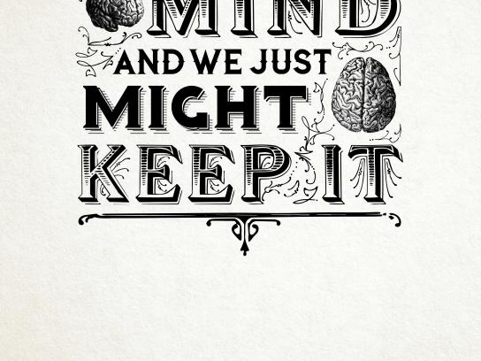 Mutter Museum Print Ad - Lend Us Your Mind