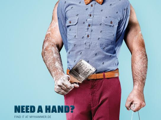 MyHammer Print Ad -  Need A Hand?, 2