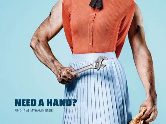 MyHammer Print Ad -  Need A Hand?, 3