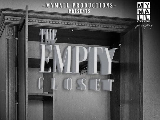 MYMALL Print Ad - The Empty Closet