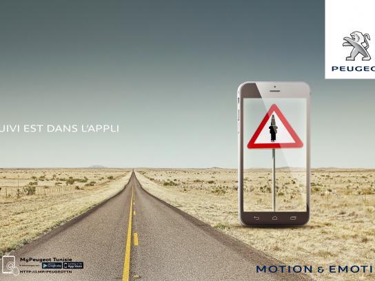 Peugeot Print Ad -  Sign, 1