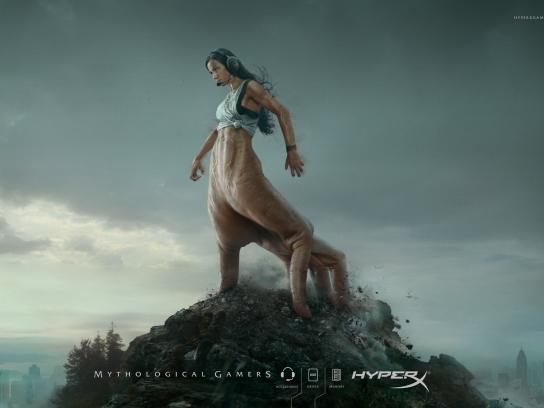 HyperX Print Ad -  Mythological Gamers, 1