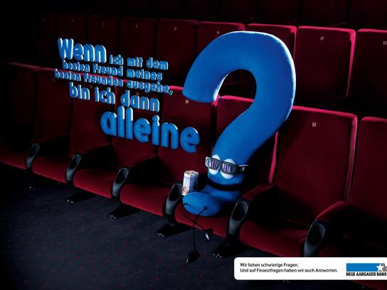 Neue Aargauer Bank Print Ad -  Best friend