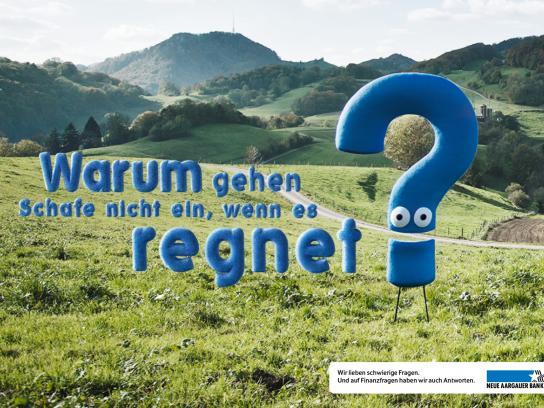 Neue Aargauer Bank Print Ad -  Sheep