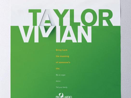 ProCardio Print Ad - Taylor Vivian