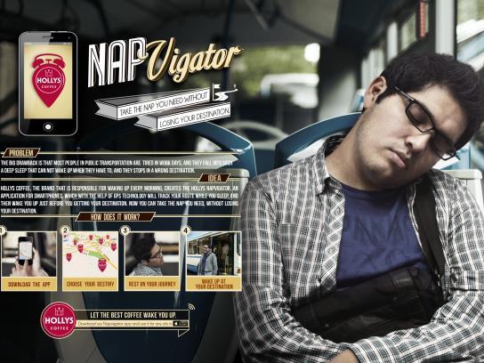 Holly's Coffee Digital Ad -  Napvigator