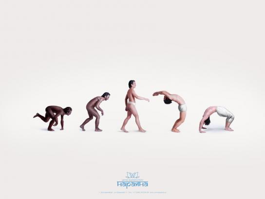 Narayana Print Ad -  Evolution