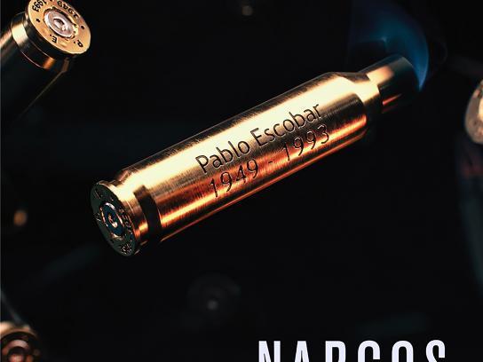 Netflix Outdoor Ad - Narcos Season 2, Bullet Teaser