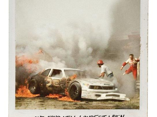 Nascar Print Ad - Fire