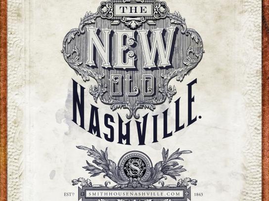 The Standard Print Ad -  New old Nashville