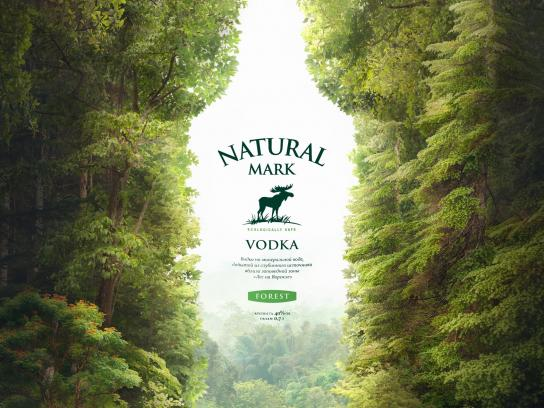 Natural Mark Print Ad - Forest
