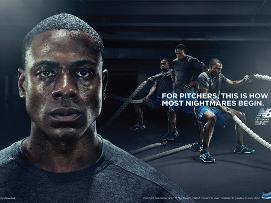 New Balance Print Ad -  Nightmares