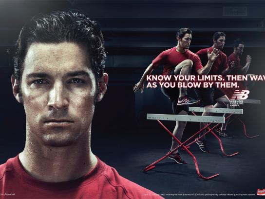New Balance Print Ad -  Limits