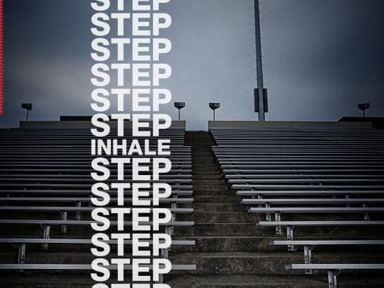 National Cheerleaders Association Print Ad -  Steps