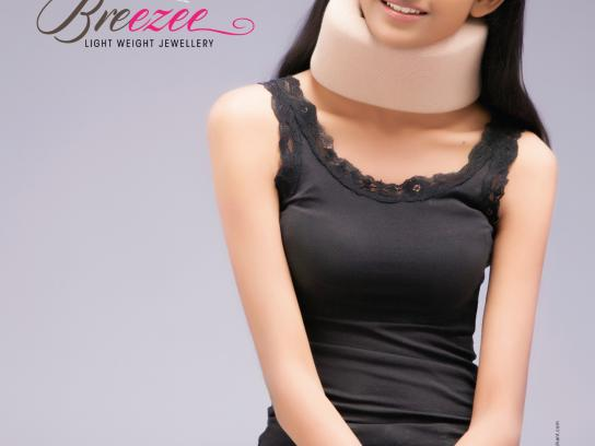 Breezee Print Ad -  Neck