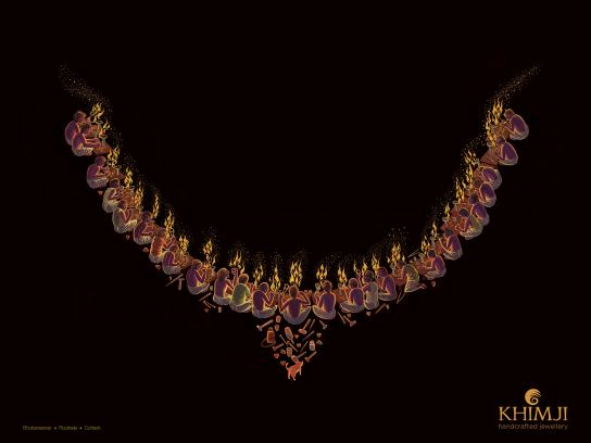 Khimji Print Ad - Necklace