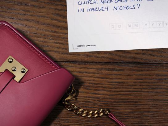 Harvey Nichols Print Ad - Necklace and belt