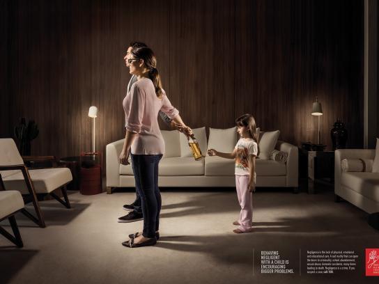 Fórum Catarinense Print Ad -  Girl