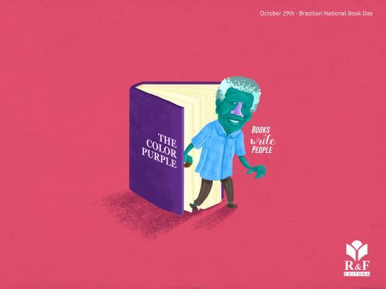R&F Editora Print Ad - Nelson Mandela