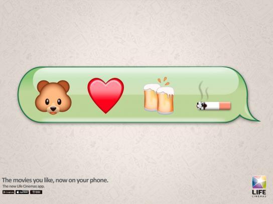 Life Cinemas Print Ad -  Ted