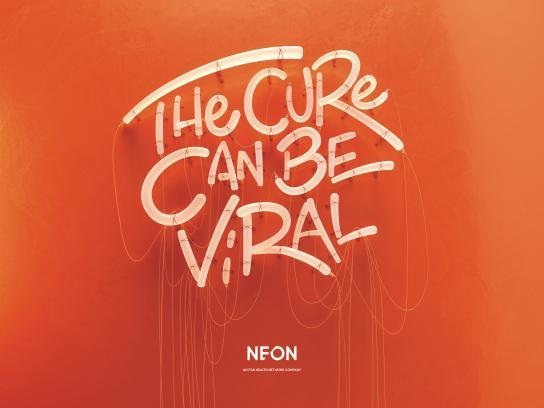 NEON Print Ad - Cure