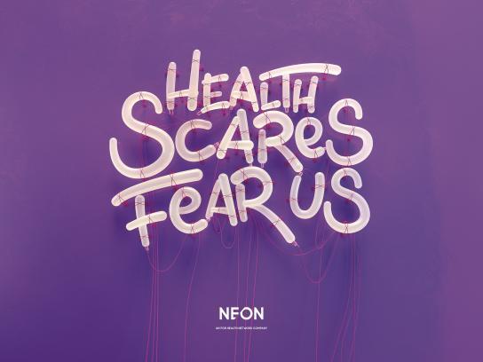 NEON Print Ad - Fear