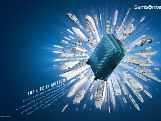 Samsonite Print Ad - For life in motion, 4