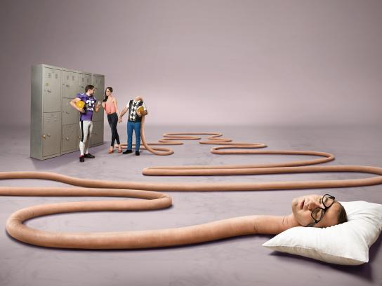 Café Garat Print Ad -  Nerd