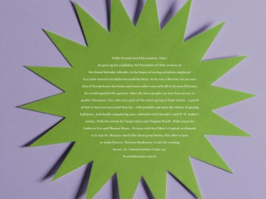 Floriano Bookstore Print Ad -  Neruda