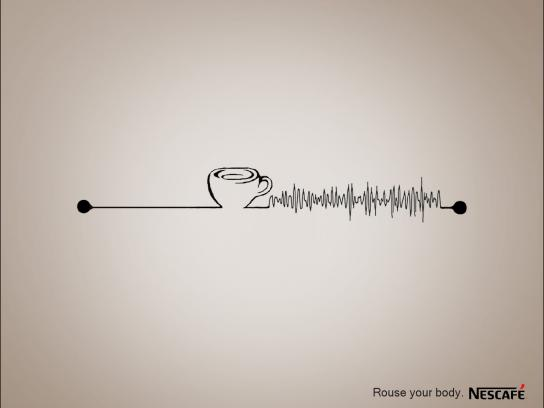 Nescafe Print Ad - Rouse Your Body