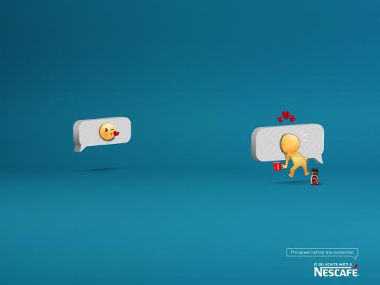 Nescafe Print Ad - Emojis