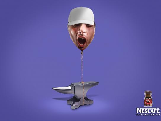 Nescafe Print Ad -  Anvil