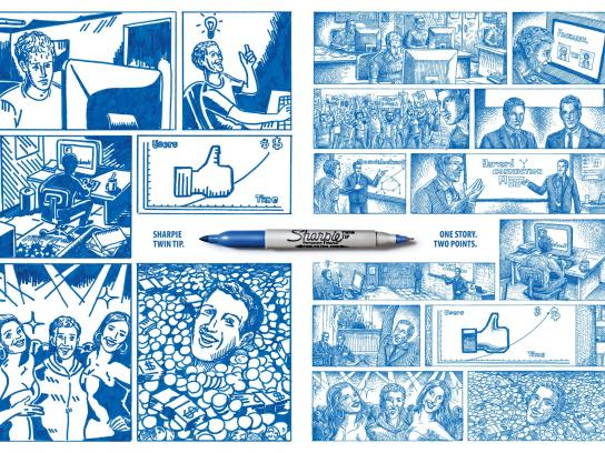 Sharpie Print Ad -  Network