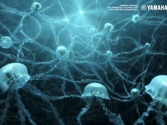 Yamaha Print Ad - Neurons