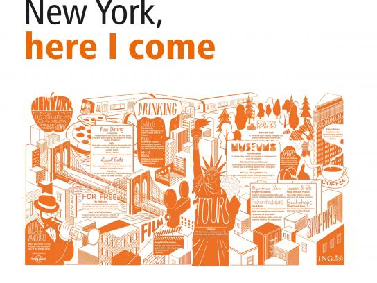 ING Outdoor Ad -  Cities in a Click - New York