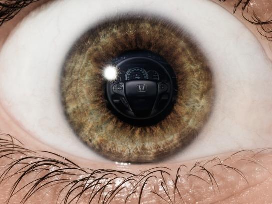 Honda Print Ad -  Eye, 2