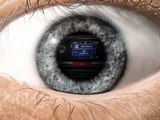 Honda Print Ad -  Eye, 3