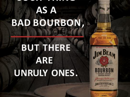 Jim Beam Print Ad - A Rebellious Spirit, 3